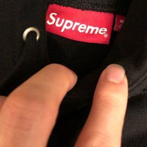 Supreme box logo black green